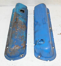 1968 1969 Ford Mustang GT Mach 1 Mercury Cougar ORIG 289 302 351W VALVE COVERS