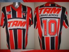 Sao Paulo PENALTY 10 Adult XL Jersey Soccer Football Vintage Brazil Top 1993