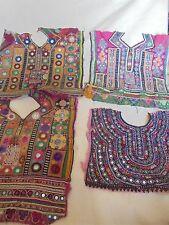 AUTHENTIC VINTAGE Banjara TRIBAL Neck Yoke Embroidery Patch 10 piece lot