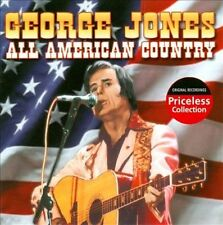 JONES,GEORGE-ALL AMERICAN COUNTRY  CD NEW