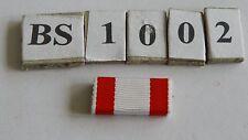 Bandspange Modell 57  Preussen Roter Adler Orden 25mm zum aufschieben (bs1002-)