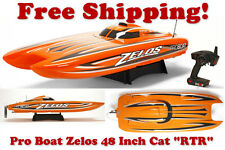Pro Boat Zelos 48-inch Catamaran Brushless RTR PRB08017
