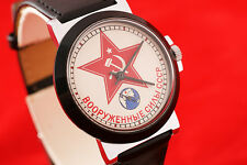 Military style OLD stock wrist watch vintage USSR Armed Forces Red Army