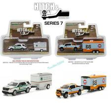 GREENLIGHT HITCH & TOW SERIES 7 SET OF 2 1/64 DIECAST CARS 32070B 32070D NEW!!
