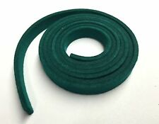 "Firm Green Felt for Piano Repair, 56"" X 1/2"", Grand Key Tails, Damper Lifter"