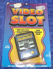 Video Slot 5000 Electronic Handheld Travel Game Awesome Slots GAME New Package
