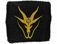 3 INCHES OF BLOOD goat head/black 2014 SWEATBAND official merchandise