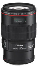 Canon EF 100mm f/2.8L IS Macro USM Lens Free Express