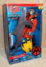 "HASBRO 12"" GI Joe Adventure Team DANGER OF THE DEPTHS - 2002 - NEW!"