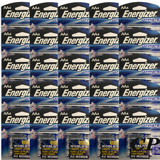 Energizer L91BP Pack of 100 Ultimate AA Lithium Batteries (25 Pks of 4)