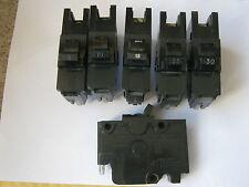 Federal Electric 25 Amp TIPO 4 na1p25 Single Pole MCB interruttore automatico.