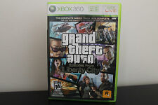 Grand Theft Auto: Episodes From Liberty City  (Xbox 360, 2009) *Tested