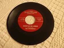 THE ENTERNALS  ROCKIN IN THE JUNGLE/ROCK N ROLL CHA CHA TRANS HOLLYWOOD 68/69