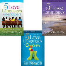 Gary Chapman General Interest Collection 3 Books Set (5 Love Languages) New