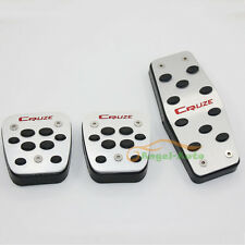 For Chevrolet Cruze 2009-2015 No Drilling Accelerate Brake MT Pedals Pads