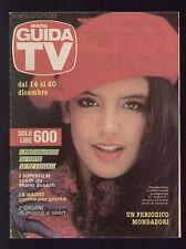 NUOVA GUIDA TV MONDADORI 50/1986 PHOEBE CATES MARADONA PROGRAMMI TV LAZIO ROMA