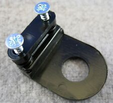 Black tube end cable clamp with 10mm hole.