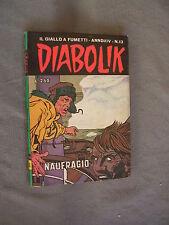 DIABOLIK ORIGINALE ANNO XIV n° 13 - 1975 - RARO - OTTIMO