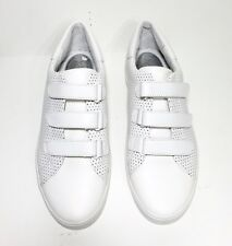 BRAND NEW $125 MICHAEL KORS CRAIG SMOOTH PERFORATED LEATHER UPPER OPTIC WHITE
