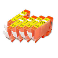 5 PK YELLOW Ink Tank + smart chip for Canon CLI-226 iP4920 MG5220 MG5320 MG8220