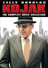 Kojak Complete Movie Collection Film Telly Savalas DVD Set TV Show CBS NOT Serie