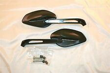 Ducati Performance billet rear-view mirrors  96880091A, 96880131A, -Pair, Black