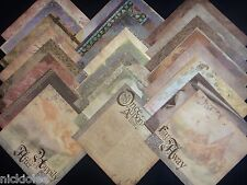 12X12 Scrapbook Paper Cardstock DCWV Once Upon a Time Fairytale Stack 24 Kit Lot