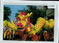 C6485cgt Singapore Chinese Dragon Festival postcard