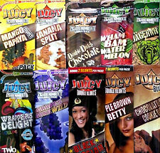 10x Variety Packs Juicy Jays Flavored Double Blunt Wraps RYO Cigarillo Papers