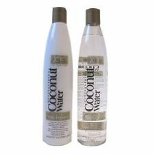 ** REVITALISING COCONUT WATER SHAMPOO & CONDITIONER HYDRATING 400ML  NEW **