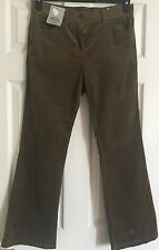 Mark & Spencer Collection Bootleg Women Corduroy Trousers Size 10 Short