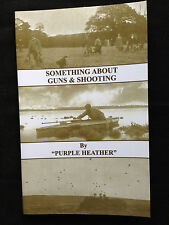 guns shooting game gunmakers purple heather grouse wildfowling weapons