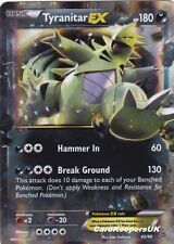 Tyranitar EX 42/98 - Half Art - Pokemon Card - XY Ancient Origins - Mint