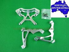 Alloy front shock tower and brace set for HPI Baja 5B or KM Baja 1:5 RC Buggy