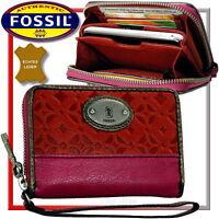 FOSSIL Damen Geldbörse -(mit Handyfach/Fach für Handy)- Portmonee Geldbeutel NEU