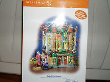 DEPT 56 HALLOWEEN VILLAGE ZELDA'S WAX MUSEUM NIB