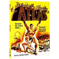 Atlas (DVD, 2006) Michael Fores-Barboura Morris-Frank Wolff-Swords-Sandals-1960