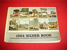 1964 ORIGINAL CHEVROLET TRUCK SPECIAL EQUIPMENT SILVER BOOK DEALER ALBUM 64