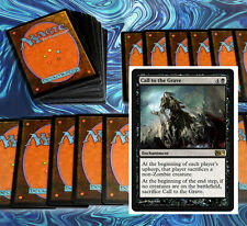 mtg BLACK ZOMBIES DECK Magic the Gathering rare cards cryptbreaker ever after