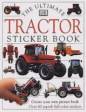 Ultimate Sticker Book: Tractor (Ultimate Sticker Books), DK, Good Book