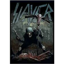 RARE SLAYER Soldier Cross Dead Baby Kerry King Fabric Poster Flag Banner-New!