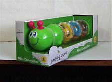 Mini Caterpillar Baby Toy Rattle by Jumping Beans NIB