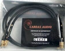 Cardas-Interconnect cable-iridio - 2x1m RCA-certificated-New!