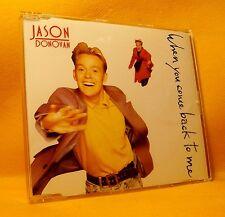 MAXI Single CD Jason Donovan When You Come Back To Me 3TR 1989 Synth Pop