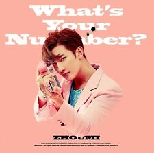 ZHOUMI SUPER JUNIOR M 2nd Mini Album [What's Your Number?] CD + Booklet Sealed