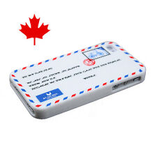 Luck Case Air Mail Envelope Series Soft Silicon Case for iPhone 4G 4S