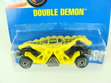 Hot Wheels Double Demon 1992 Blue Card #199