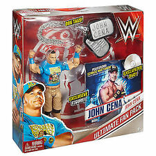 "NEW! WWE John Cena Ultimate Fan Pack • 6"" Action Figure • DVD and Dog Tags"