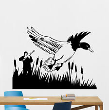 Hunting Wall Decal Hunt Hunter Gun Duck Vinyl Sticker Art Decor Mural 207xxx