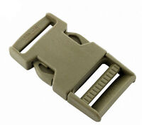"""Coyote Tan GhillieTex IRR 25mm Side Release Buckle ( DIY Tactical military 1"""""""